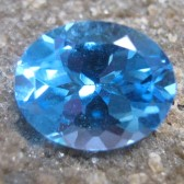 Swiss Blue Topaz Oval 2.93 carat