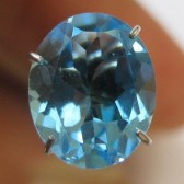 Swiss Blue Topaz Oval 2.58 carat