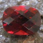 Garnet Pyrope Cushion Cut 1.62 carat