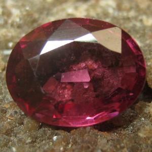 Rhodolite Garnet Purplish 1.00 carat