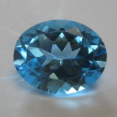 Swiss Blue Topaz 2.99 carat