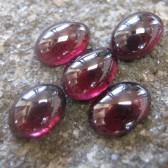 5 Pcs Garnet Rhodolite Cabochon 5.00 carat