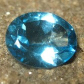 Swiss Blue Topaz Oval Cut 2.93 carat
