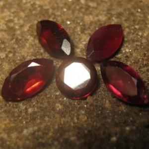 5 Pcs Garnet Almandite 3.30 carat