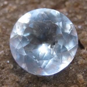 Sky Blue Topaz Round Cut 3.00 carat