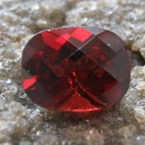 Garnet Pyrope Cushion Facet 1.65 carat