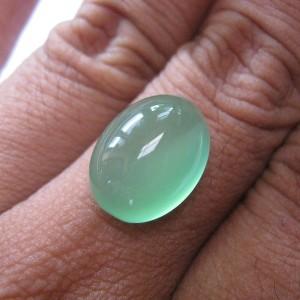 Chalcedony Hijau Menawan 10.40 carat