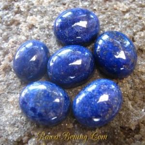 6 Pcs Lapis Lazuli 35 carat