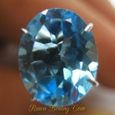 Oval Swiss Blue Topaz 2.73 carat