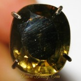 Cushion Yellowish Brown Zircon 2.38 carat