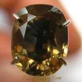 Cushion Brownish Yellow Zircon 2.54 carat