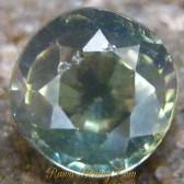 Round Cut Zircon Greenish Grey 1.85 carat