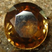 Yellowish Brown Oval Zircon 2.60 carat