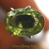 Light Greyish Yellow Zircon 2.47 carat