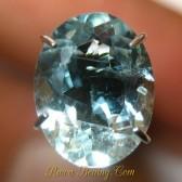 Oval Light Blue Aquamarine 1.60 carat