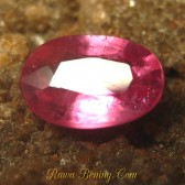 Oval Pinkish Red Ruby 0.70 carat