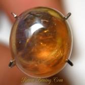 Batu Mulia Safir Kuning Bening Cabochon 4.75 carat