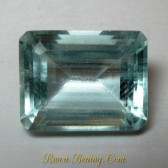 Rectangular Light Blue Aquamarine 3.35 carat