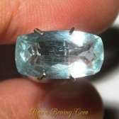 Jual Batu Mulia Cushion Rectangular Aquamarine 1.85 carat