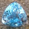 Batu Permata Sparkling Triangular Blue Topaz 12.90 carat