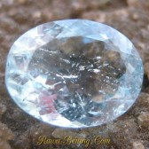 Oval Light Blue Aquamarine 1.70 carat