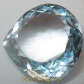 Pear Blue Topaz VVS 9.20 carat