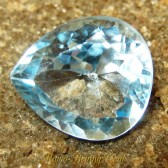 Pear Shape Blue Topaz VVS 8.40 carat