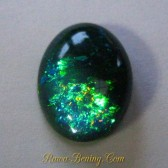 Blackish Blue Opal Color Play 4.46 carat