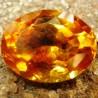 Orangy Yellow Citrine 4.05 carat Kualitas Bagus