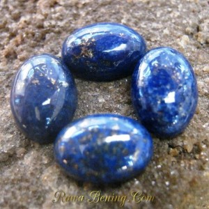 4 Pcs Batu Mulia Lapis Lazuli Berkualitas ~ www.Rawa-Bening.Com
