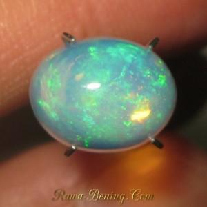 Rainbow Opal Bening 2.20 carat Kualitas Bagus