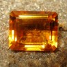 Citrine Orangy Yellow Bening 3.35 carat Kualitas Bagus!
