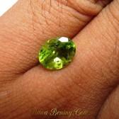 Batu Cincin Peridot 2.30 carat Lumayan Bagus Gan..