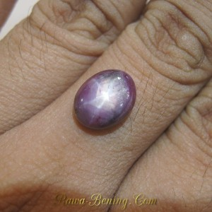 Batu Ruby Star Purplih Red 6.90 carat | www.Rawa-Bening.Com