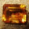 Batu Permata Citrine Kuning Bersih 3.07 carat