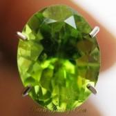 Peridot Hijau Oval 2.35 carat