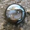 Black Star Sapphire Round Cabochon 9.65 carat