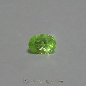 Elegant Green Peridot Oval 0.9 cts