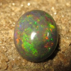 Black Opal Forest Multi Color 1.90 carat