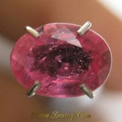 Ruby Pinkish Red Cantik 0.95 carat