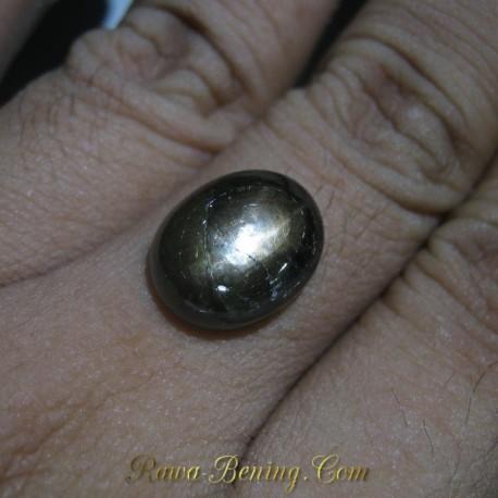 Batu Mulia Black Star Sapphire 10.75 carat