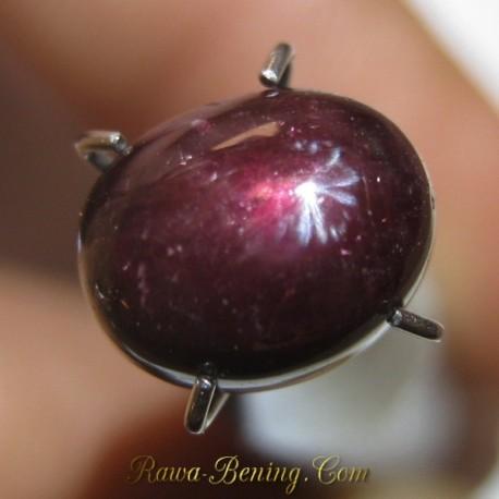 Promo Batu Mulis Red Star Ruby 2.85 carat www.rawa-bening.com