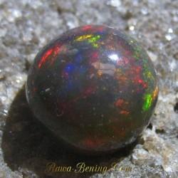 Black Opal Jarong Lurik Bundar 2.10 carat