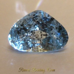Fancy Pear Cut Aquamarine 2.65 carat