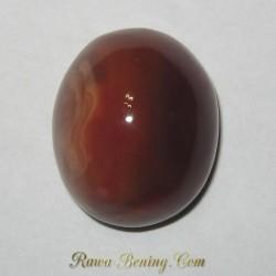 Orangy Brown Vintage Agate 23.10 carat