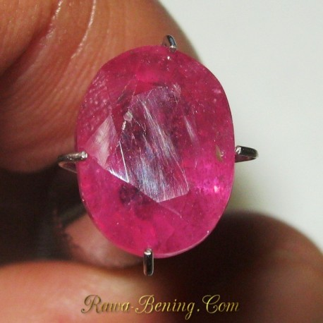 Batu Mulia Orange Sapphire 4.09 carat Harga Murah Bro!