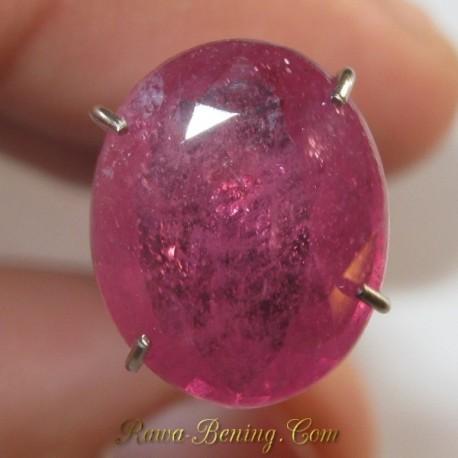 Natural Sapphire Pinkish Orange 3.26 carat
