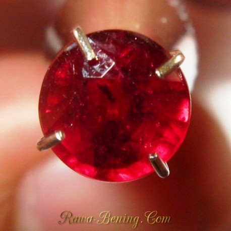 Natural Ruby Round Cut Red 1.20 carat