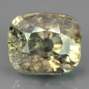 Unheated Light Yellow Sapphire 1.7 cts