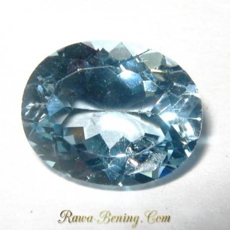 Batu Light Sky Blue Topaz 3.10 carat